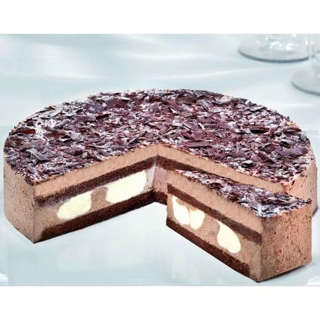 Mousse-au-Chocolat-Torte Ø 28 cm, ungeschnitten (1500 g, ca. 16 Portionen)