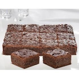 Schoko-Blechkuchen geschnitten, 25x38 cm (1400 g)