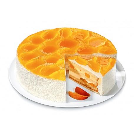 Pfirsich-Crème-Fraîche-Torte Ø 28 cm (2250 g)