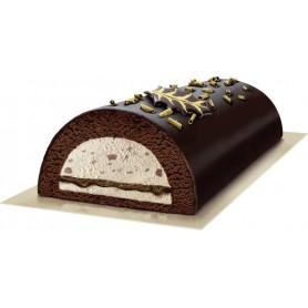 Eisrolle Schokolade-Haselnuss (900 ml)