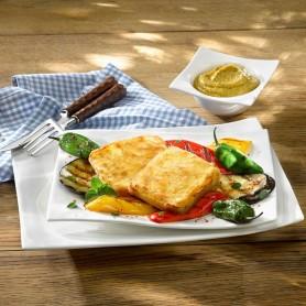 Cheese-Steak bemehlt (6 Stück, je ca. 75 g)