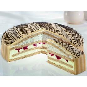Pistazien-Mohn-Sahne-Torte Ø 28 cm, ungeschnitten (2200 g, ca. 16 Portionen)