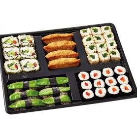 Vegetarischer 5-fach Mix 40 Sushi-Stückchen (ca. 880 g)