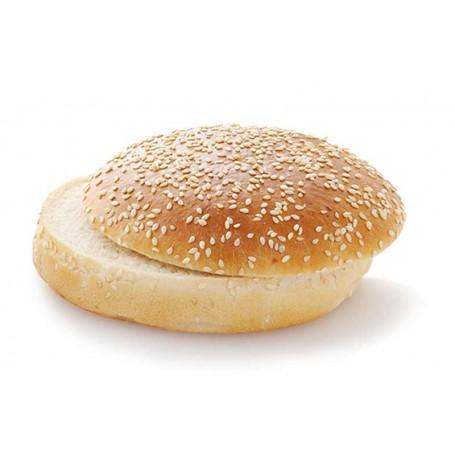 Big Hamburger Bun Sesam (12 Stück, je ca. 80 g)