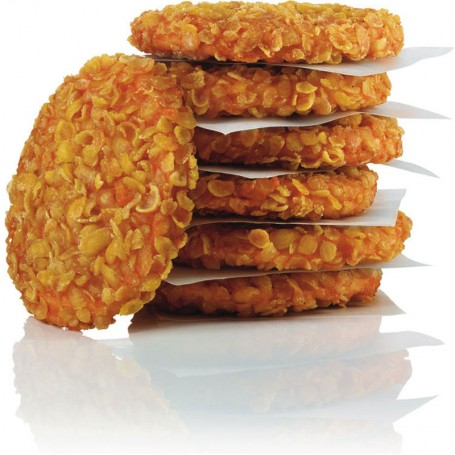 Crunchy Chicken Burger (6 Stück, je ca. 90 g)