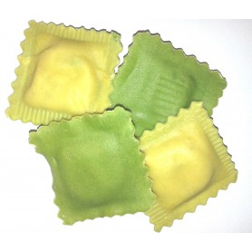Ravioli ricotta e spinaci grün/weiß (500 g)