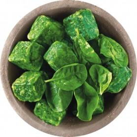 Blattspinat in Portionen (2,5 kg)