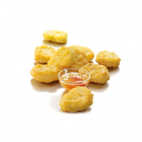 Chicken Nuggets Premium in Backteig 22 g (1 kg)