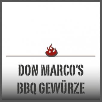 Don Marco's BBQ Gewürze